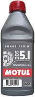 Тормозная жидкость Motul MOTUL DOT 5.1 / 1 литр, (807001 / 105836), original