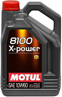Масло моторное Motul 8100 X-POWER SAE 10W60 / 4 литра, (854841 / 106143), original