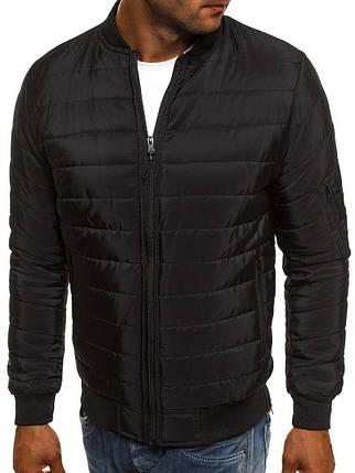 Мужская куртка Black черная, фото 2
