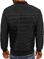Мужская куртка Black черная, фото 3