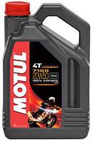Масло Motul 7100 4T SAE 20W50 / 4 литра, (836441 / 104104), original