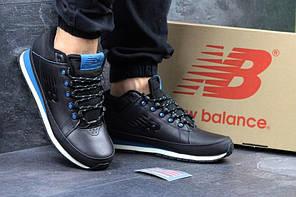 Чоловічі  осінні   кросівки  New Balance H-754 - сині  з  чорним
