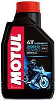 Масло Motul 3000 4T SAE 20W50 / 1 литр, (837011 / 107318), original