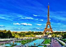 Вафельная картинка Эйфелева Башня 2