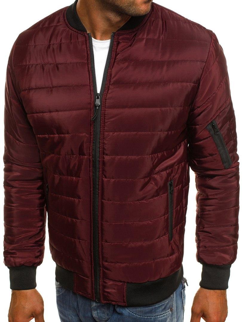 Мужская куртка Bordo бордовая