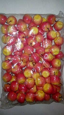 Муляж яблока,искусственный фрукт-яблоко розовое, фото 2