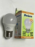 Светодиодная лампа Delux BL50Р 5W P45 2700K E27 Код.59006