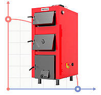 Котел твердотопливный для отопления РЕТРА 5М plus 20 кВт