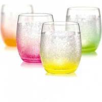 Набор стаканов для сока Neon Ice 4 шт по 300 мл Bohemia 7523B