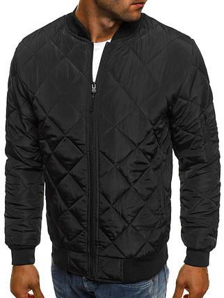 Куртка мужская Black черная, фото 2