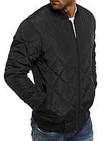 Куртка мужская Black черная, фото 3