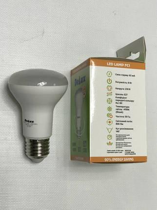 Светодиодная лампа Delux FC1 8W R63 4100K E27 Код.59010, фото 2