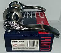 Ручка раздельная PUNTO RUMBA TL SN/CP-3 матовый никель/хром