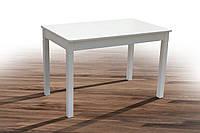 Стол Персей белый 113(+38)х70 обеденный раскладной