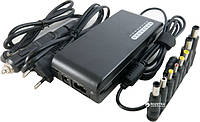 Блок питания для ноутбука универсальный Extradigital ED-100W2437 (15-24V 100W 4.5A) Black (PSU3852)