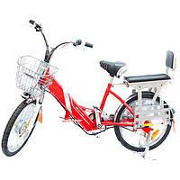 Велосипед аккумулятор Benlin BL-ZL-60 (красный)(B) 60 вольт 400 Вт с литиевым аккумулятором