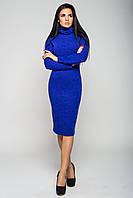 Платье женское Гольф 42, синий электрик