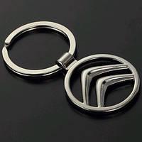 Брелок в виде значка CITROEN (ситроен) металл SKU0000809
