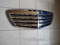 Решетка радиатора AMG на Mercedes S-Сlass W221 рестайлинг, фото 1