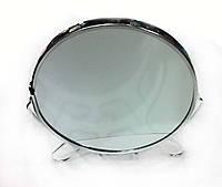 Зеркало двусторонее настольное круглое, 12 см
