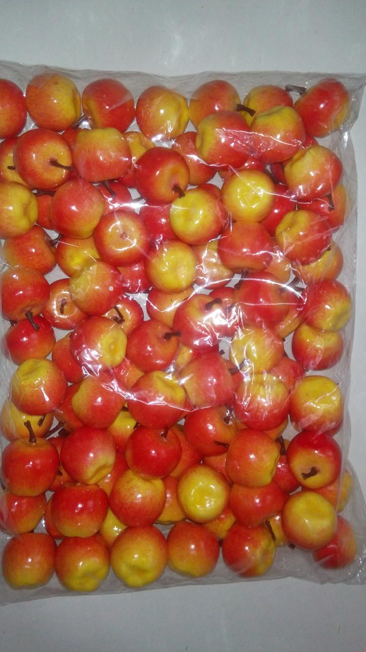 Муляж яблока,искусственный фрукт яблоко розовое