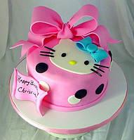 """Торт для девочки """"Hello Kitty"""" под заказ в Днепре"""