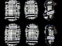 Защитная экипировка ZELART SK4678BK-M (наколенники, налокотники, наладонники)