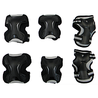 Защитная экипировка ZELART SK4677BK-M (наколенники, налокотники, наладонники)