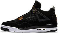 Мужские кроссовки Nike Air Jordan 4 Royalty Black