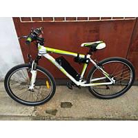 Велосипед аккумулятор Optima F1 (бело-зеленый)