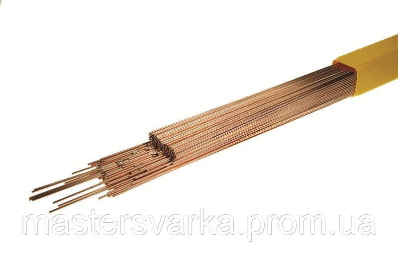 Сварочный присадочный пруток для сварки меди марки ERCuSi-A диаметр 1,6 мм ( 5 кг )