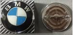 Эмблема BMW  74 мм в сборе