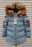 Зимняя куртка для девочек,Размер 4-12,Фирма GRACE ,Венгрия, фото 1
