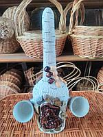 Ручные бутылки из декоративного камня
