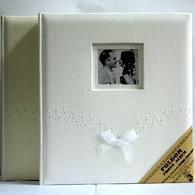 Свадебный фотоальбом poldom bb-15x21 emi на 100 фотографий