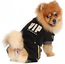 Спортивный костюм для собак XS черный VIP, фото 3