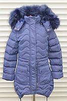 Зимняя куртка для девочек,Размер 4-12,Фирма GRACE ,Венгрия,ОПТОМ