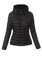 Женская стёганая зимняя куртка двухсторонняя на меху