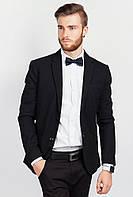 Пиджак мужской однотонный AG-0004031 Черный