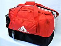 Сумка спортивная Adidas 0556 с отделом для обуви большая текстильная