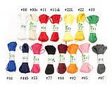 Декоративный шнурок, цветная нитка, верёвка для упаковки, хлопковый шпагат - однотон - выбор цвета, фото 5