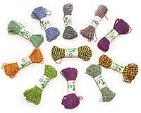 Декоративный шнурок, цветная нитка, верёвка для упаковки, хлопковый шпагат - микс - выбор цвета