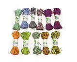 Декоративный шнурок, цветная нитка, верёвка для упаковки, хлопковый шпагат - микс - выбор цвета, фото 4