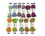 Декоративный шнурок, цветная нитка, верёвка для упаковки, хлопковый шпагат - микс - выбор цвета, фото 5