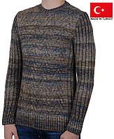 Оригинальный теплый свитер на мальчика-подростка.