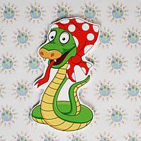 Змея. Настенная декорация для детского сада.