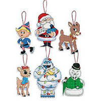 Набор для вышивания DIMENSIONS Рождественские украшения Рудольф