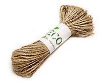 Джутовая веревка, Декоративный шнурок, натуральная нитка, верёвка для упаковки, фото 1