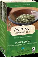 """Зеленый чай мате """"Мате лимон"""" Numi"""