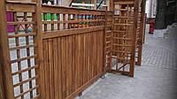 """Деревянный декоративный забор """" Ямото"""". Как образец."""